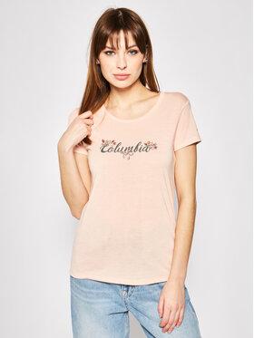 Columbia Columbia Marškinėliai Shady Grove 1885993 Rožinė Regular Fit