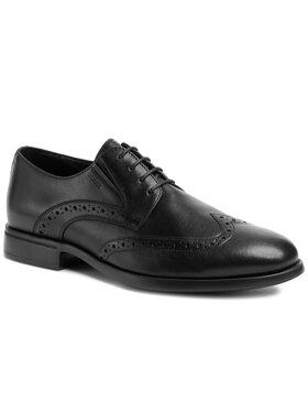Geox Geox Обувки U Domenico D U029LD 00043 C9999 Черен