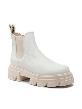 Carinii Carinii Klassische Stiefeletten B5948 Weiß