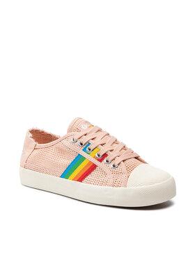 Gola Gola Sneakers aus Stoff Coaster Weave CLB177 Rosa