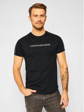 Calvin Klein Jeans Calvin Klein Jeans T-Shirt J30J315983 Černá Regular Fit