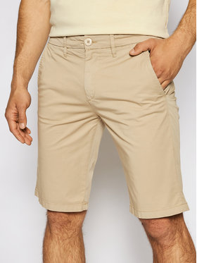 Guess Guess Stoffshorts M1GD18 WDT21 Beige Regular Fit