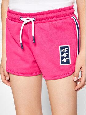 4F 4F Pantaloncini sportivi HJL21-JSKDD001 Rosa Regular Fit