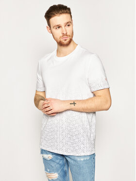 Guess Guess Тишърт 1000 Tee M0GI57 K8HM0 Бял Regular Fit