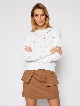 Guess Guess Sweter Emma W1RR00 Z2BB0 Beżowy Relaxed Fit
