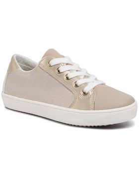 Geox Geox Sneakers aus Stoff J Gisli G. A J024NA 0NFBC C0439 S Goldfarben
