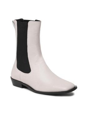 Gino Rossi Gino Rossi Kotníková obuv s elastickým prvkem C012-01 Šedá