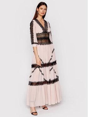 Babylon Babylon Sukienka wieczorowa N_E00718 Różowy Regular Fit