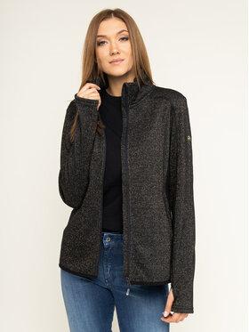 Roxy Roxy Bluza Harmony Shimmer ERJFT03962 Czarny Regular Fit