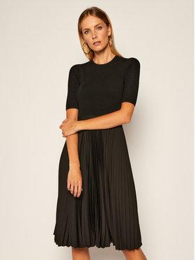 Calvin Klein Calvin Klein Hétköznapi ruha Pleated K20K202079 Fekete Regular Fit