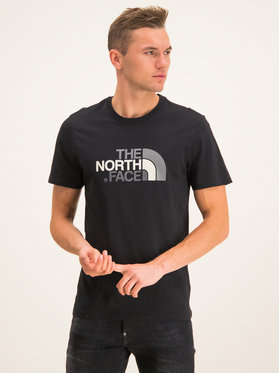 The North Face The North Face T-Shirt Easy NF0A2TX3JK3 Czarny Regular Fit