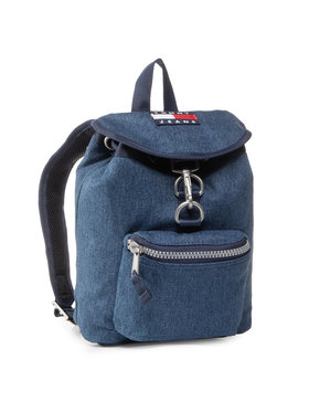 Tommy Jeans Tommy Jeans Σακίδιο Tjw Heritage Sm Backpack Denim AW0AW08278 Σκούρο μπλε