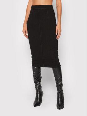 Guess Guess Puzdrová sukňa Flavia W1BD14 K8RN0 Čierna Slim Fit
