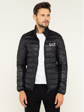 EA7 Emporio Armani EA7 Emporio Armani Пухено яке 8NPB01 PN29Z 1200 Черен Regular Fit