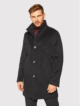 Oscar Jacobson Oscar Jacobson Μάλλινο παλτό Storviker 7154 9049 Σκούρο μπλε Regular Fit
