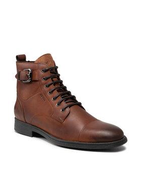 Geox Geox Μπότες U Jaylon A U16Y7A-000CL C6001 Καφέ