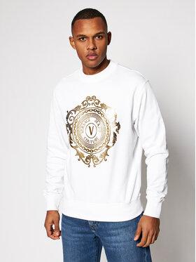 Versace Jeans Couture Versace Jeans Couture Суитшърт B7GWA73F Бял Regular Fit