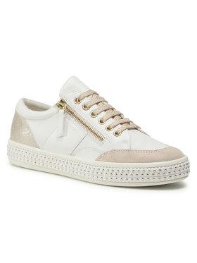 Geox Geox Sneakersy D Leelu' E D94FFE 08554 C1ZB5 Bílá