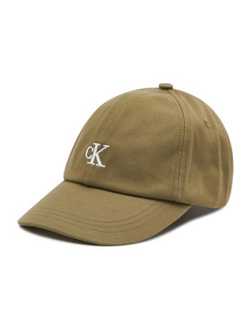 Calvin Klein Jeans Calvin Klein Jeans Καπέλο Jockey Monogram Baseball Cap IU0IU00150 Πράσινο