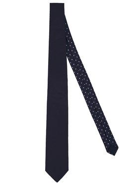 Tommy Hilfiger Tailored Tommy Hilfiger Tailored Krawatte Solid Oxford TT0TT06875 Dunkelblau