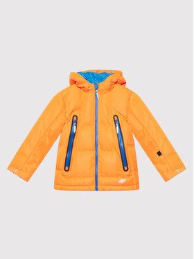 4F 4F Lyžařská bunda JKUMN003A Oranžová Regular Fit