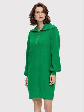YAS YAS Трикотажна сукня Dalma 26024412 Зелений Regular Fit