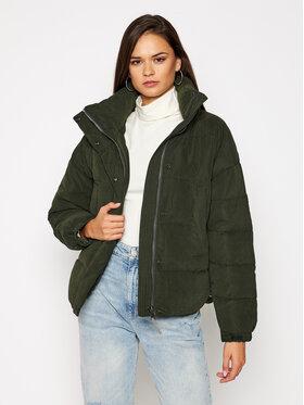 Lee Lee Zimná bunda Puffer L56VMMOJ Zelená Regular Fit
