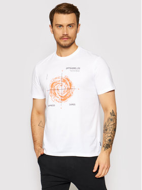 Only & Sons ONLY & SONS T-shirt Mogens 22019013 Bianco Regular Fit