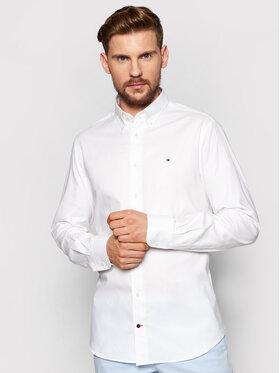 Tommy Hilfiger Tailored Tommy Hilfiger Tailored Košulja Oxford MW0MW16484 Bijela Regular Fit