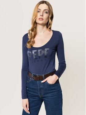 Pepe Jeans Pepe Jeans Μπλουζάκι Calissa PL504337 Σκούρο μπλε Regular Fit