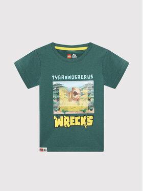 LEGO Wear LEGO Wear T-Shirt 12010107 Zielony Regular Fit