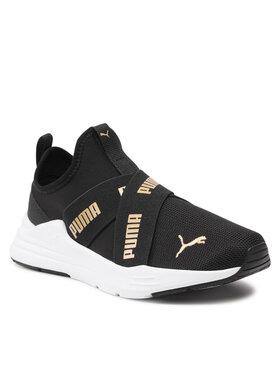 Puma Puma Sneakersy Wired Run Slip On Jr 381993 02 Černá