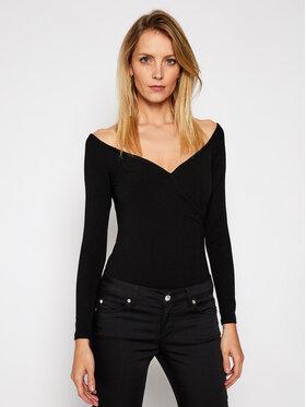 Guess Guess Блуза Sonay W1RP14 KAER2 Черен Slim Fit