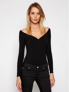 Guess Guess Bluză Sonay W1RP14 KAER2 Negru Slim Fit