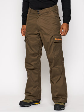 DC DC Pantalon de snowboard Banshee ADYTP03006 Vert Regular Fit