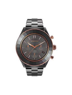 Swarovski Swarovski Часовник Octea Lux Sport 5610472 Черен
