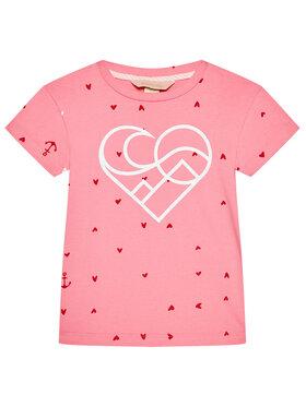 Femi Stories Femi Stories T-Shirt Muun Różowy Regular Fit