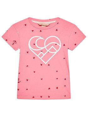 Femi Stories Femi Stories T-Shirt Muun Růžová Regular Fit