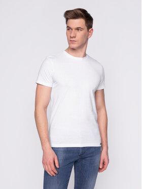 Lee Lee Σετ 2 T-Shirts Twin Pack Crew L680AIKW Έγχρωμο Slim Fit