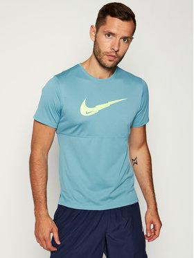 Nike Nike Φανελάκι τεχνικό Brethe Run CJ5386 Πράσινο Standard Fit