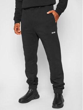 MSGM MSGM Spodnie dresowe 2940MP61 207599 Czarny Regular Fit