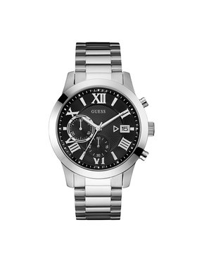 Guess Guess Часовник Atlas W0668G3 Сребрист