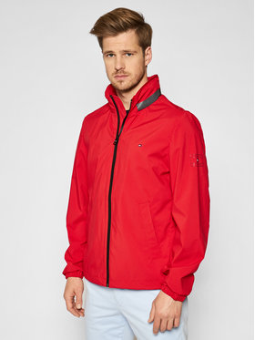 Tommy Hilfiger Tommy Hilfiger Giacca di transizione Stand Collar MW0MW17421 Rosso Regular Fit