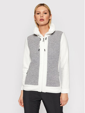 CMP CMP Fliso džemperis 31J3216 Balta Regular Fit