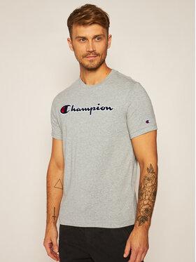 Champion Champion T-Shirt Crewneck Tee 214726 Šedá Comfort Fit
