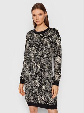 Liu Jo Liu Jo Džemper haljina WF1560 MA96J Crna Regular Fit