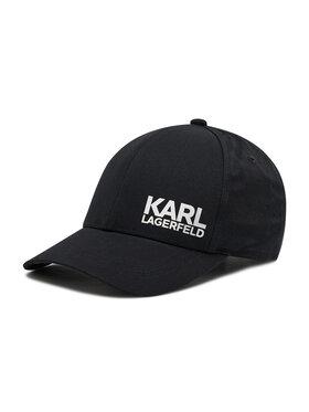 KARL LAGERFELD KARL LAGERFELD Шапка с козирка 805619 511123 Черен