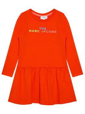Little Marc Jacobs Little Marc Jacobs Kleid für den Alltag W12380 M Rot Regular Fit