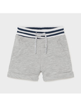 Mayoral Mayoral Short en tissu 1212 Gris Regular Fit