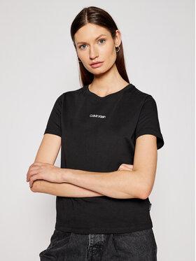 Calvin Klein Calvin Klein T-shirt Mini K20K202912 Crna Regular Fit